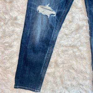 Black Orchid Jeans - Black Orchid Distressed Skinny boyfriend Jeans